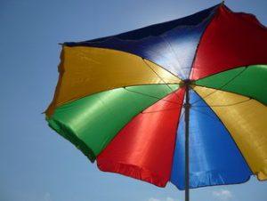 parasol zwevend 3 meter